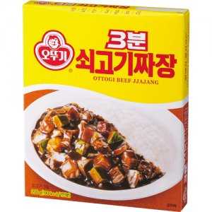 3분 쇠고기짜장(200g/오뚜기)