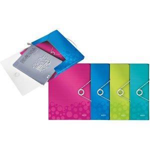 할인]ⓢWOW 박스화일(A4/핑크/LEITZ)