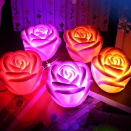 장미꽃 7색 무드등