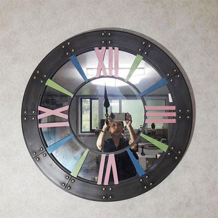 거울벽시계806