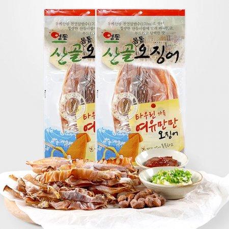 영동산골오징어 마른오징어 몸통 230g 2봉