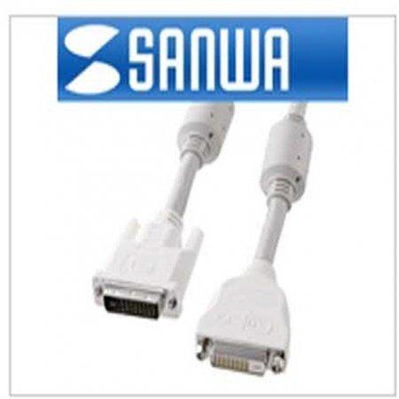 (K)최고급형 DVI-D 듀얼링크 연장 케이블 2M /초고해상도 2560x1600지원/3중 차폐/ DVI 연장 케이블