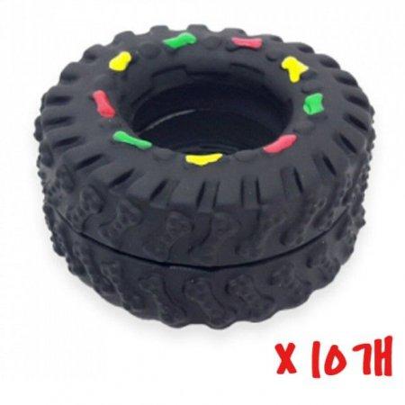 WK 타이어 장난감 10개 애견장난감 고무장난감 훈련용