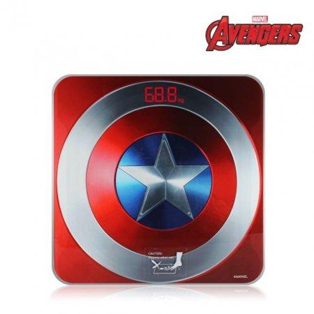 STAR 마블 캡틴아메리카 디지털 체중계 몸무게 저울