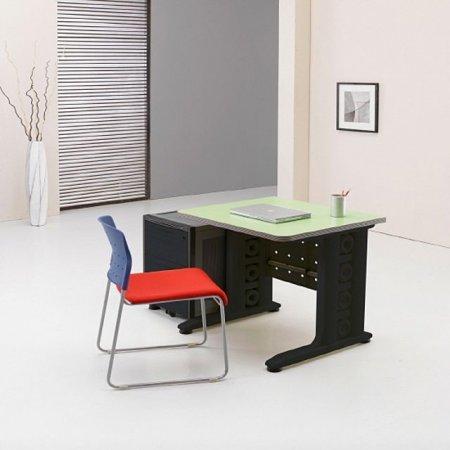 일자형 책상 800 서재 사무 학생 컴퓨터 그린.블랙