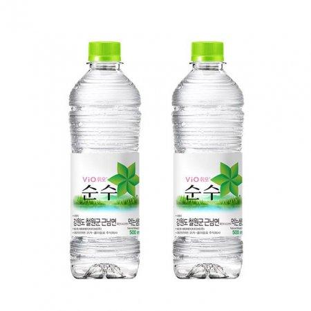 휘오 철원순수 500ml 20개 생수 심층수 미네랄워터 물