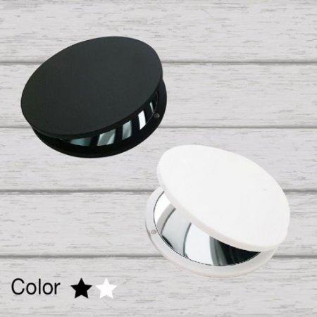 ST-348(M) 원형자석손거울/블랙/화이트/미니거울