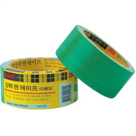 스카치 강력면테이프(971/녹색/46mm*10M/3M)