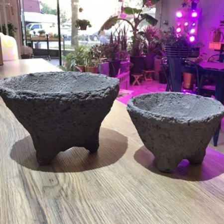 화산석 화분 볼형(대) 26x17cm
