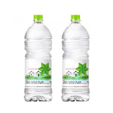 휘오 철원순수 2L 6개 생수 심층수 미네랄워터 물