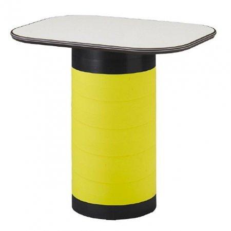 스탠딩 수납 테이블 옐로우 탁자 다용도 입식 책상