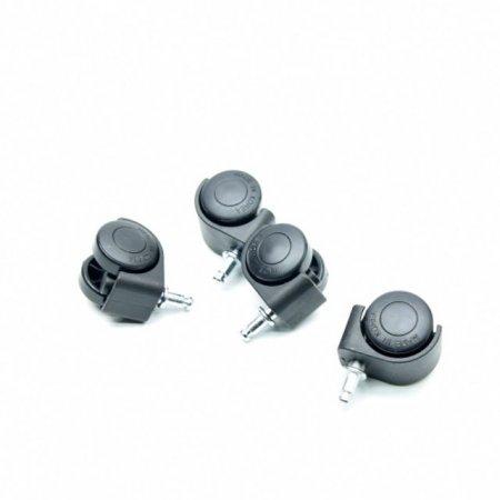 라운드 플라스틱 화분 전용 받침 바퀴 (4개1셋트)