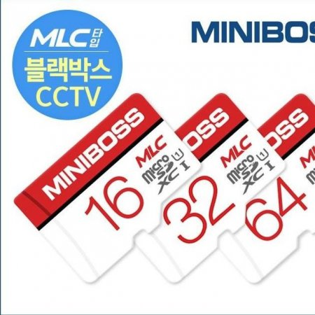 32GB MLC 미니보스 micro SD 메모리카드 블랙박스가능