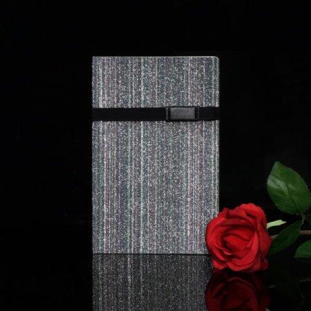글리터 패션 플래너 일기 노트 만년 다이어리 블랙펄