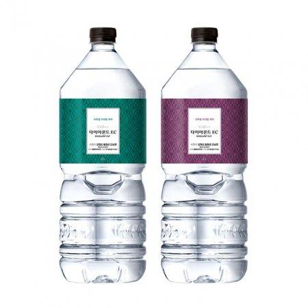 휘오 다이아몬드 EC 2L 9개 생수 심층수 미네랄 물