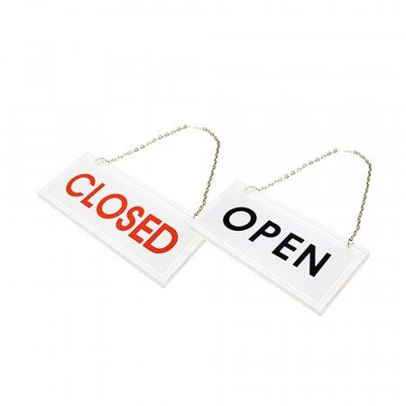 OPEN/CLOSED 71OZ01 안내판 출입문 도어사인 표지판 O