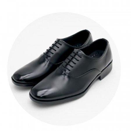 국산 남성 구두 캐주얼 끈 정장 신발 장식 단화 블랙