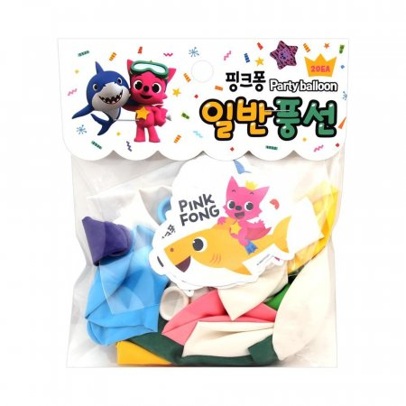 3500 핑크퐁 일반 풍선