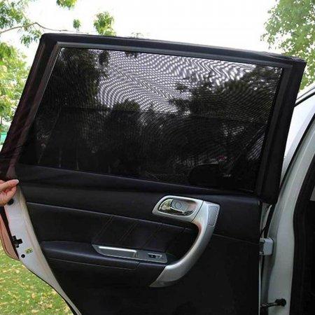 자동차 햇빛가리개 모기장 2개1세트 매쉬원단 여름