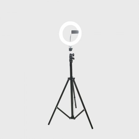 LED 라이트 링형 8형 원형램프 삼각대포함