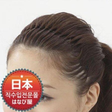 일본 고정실핀헤어밴드 실핀머리띠 철사머리띠 스프링머리띠 메탈헤어밴드 앞머리헤어밴드 메탈머리띠 머리