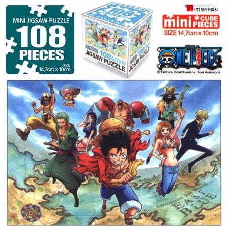 직소퍼즐 108pcs (세계를 향하여)(3개 묶음)