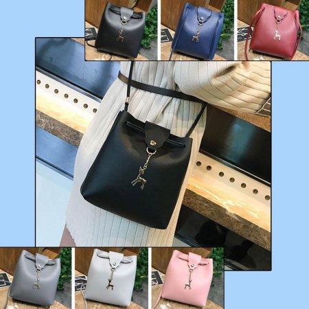 여자 여성 학생 엣지 패션 가벼운 미니 크로스백 가방