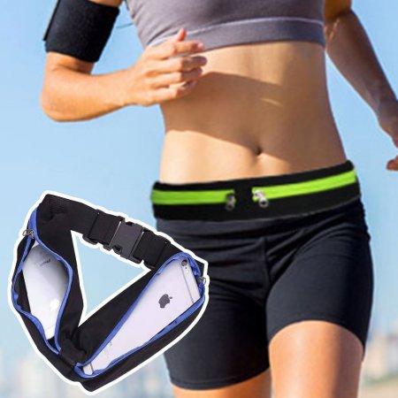 방수요술밴드 포켓벨트 런닝힙색 허리가방 휴대폰벨트