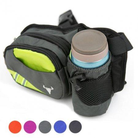 IFW 스포츠백 물병힙색 등산 여행 물병가방 보조가방