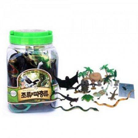 동물모형 조류와파충류 교육용 학습완구 장난감