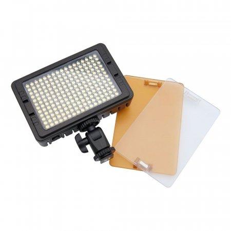 촬영 LED 플래시 라이트 램프 204 LED 지속광