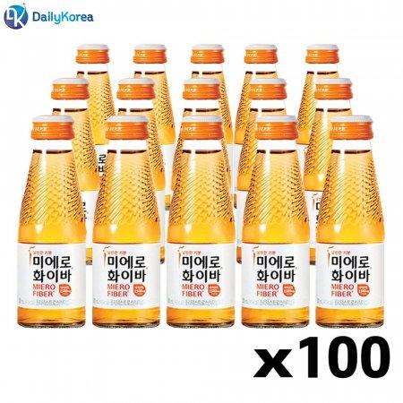 미에로 화이바 100병 식이섬유 마시는 비타민 음료 D