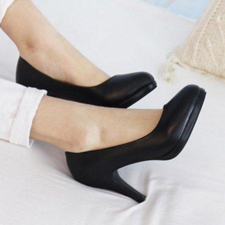 작은구두 승무원 신발 빅사이즈 여성 정장 구두 가보