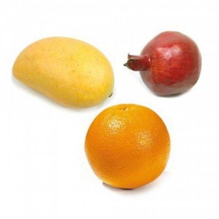 과일 모형 석류 오렌지 인테리어 소품 조형물 장식