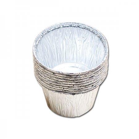 롯데 은박컵 8.7x5cm 10개 일회용컵 호일컵 은박용기 제빵용컵