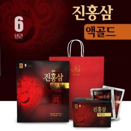 천제명 6년근 진홍삼 액골드 30포 선물세트