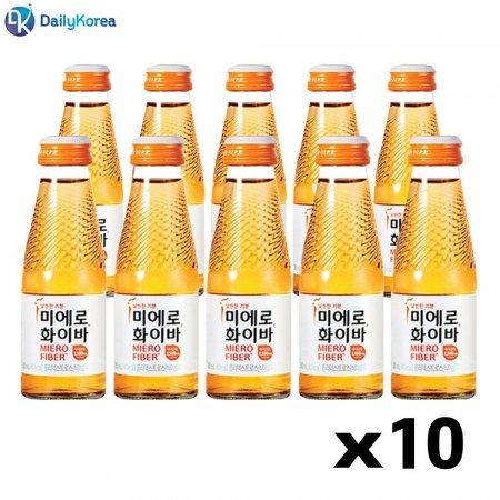 미에로 화이바 10병 식이섬유 몸매관리 마시는 음료 D