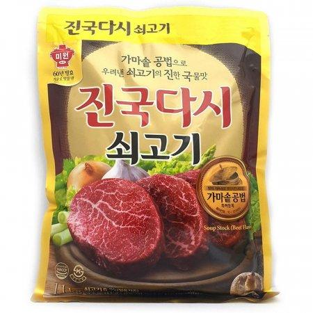 신선한 재료 쇠고기의 진한맛 쇠고기조미료 1.1kg