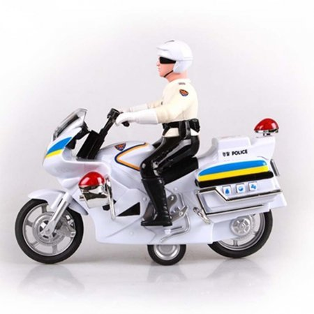 유아 어린이 스포츠 경찰 오토바이 피규어 장난감