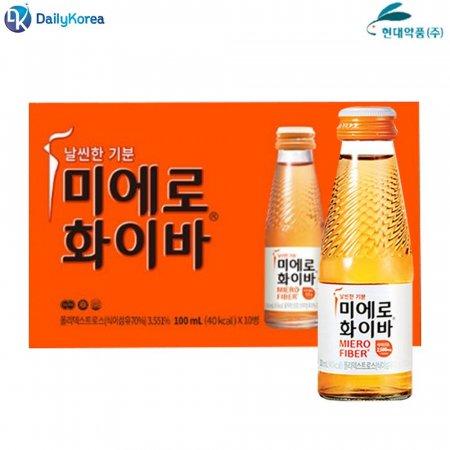 미에로 화이바 1병 식이섬유 마시는 음료수 비타민 D