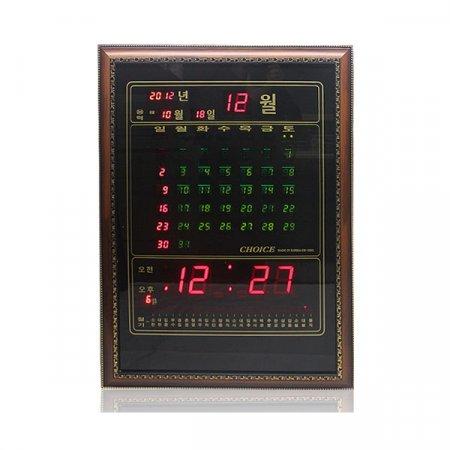 CE 카렌다벽걸이 디지털시계 CH-0805