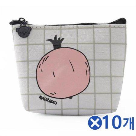 귀여운 석류그림 동전지갑 파우치x10개 동전파우치