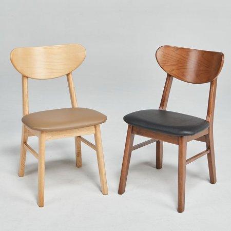 데니 인테리어 원목 식탁 의자