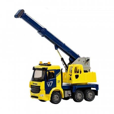 리얼 중장비 장난감 타이탄 V7 크레인 트럭 자동차