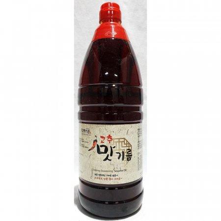 업소용 식당 식자재 재료 다인 고추맛기름 1.8L X10