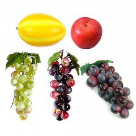 과일 모형 포도 참외 인테리어 소품 조형물 장식