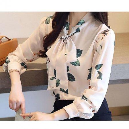 여자 긴팔 블라우스 셔츠 정장 신상 데이트룩 패턴