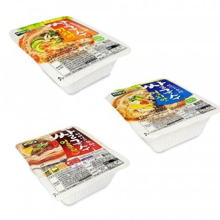 백제 쌀국수 컵라면 국수 김치맛 멸치맛 얼큰한맛