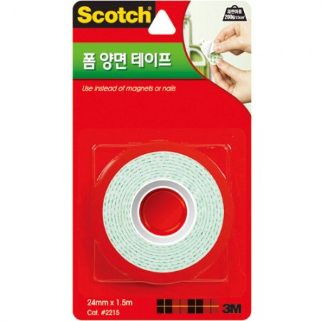 스카치 폼 양면 테이프(2215/3M)