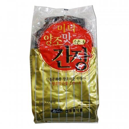 미니 양조맛간장소스-A 6g 200개 10봉 1박스